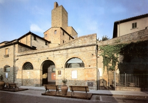 The entrance to the Museum at the time of its opening in 1993